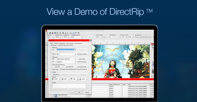 View a Demo of DirectRip TM